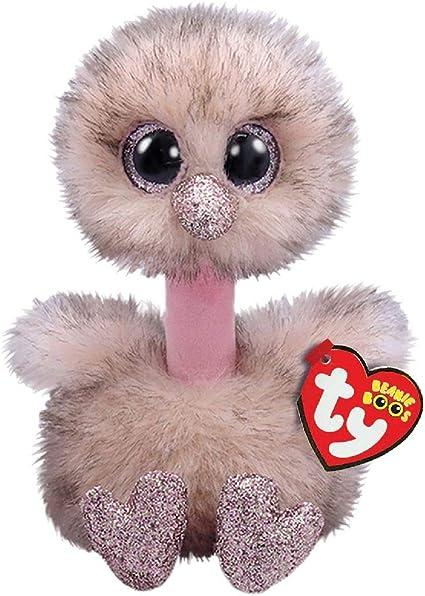 Alaska Stuffed Animals, Amazon Com Ty 36698 Henna Brown Ostrich Beanie Boos Multicolored Toys Games