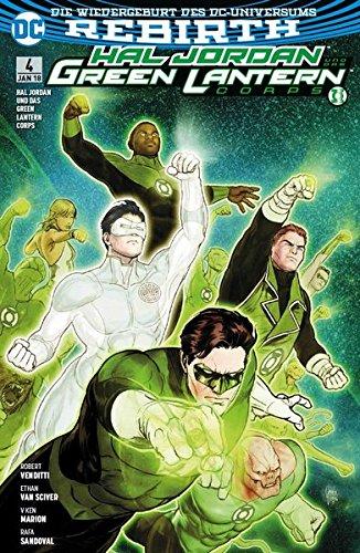 Hal Jordan und das Green Lantern Corps: Bd. 4: Suche nach Hoffnung