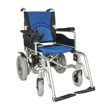 T-silla de ruedas Silla de ruedas eléctrica Scooter antiguo, batería desmontable, asiento ajustable, banda de rodadura desmontable.