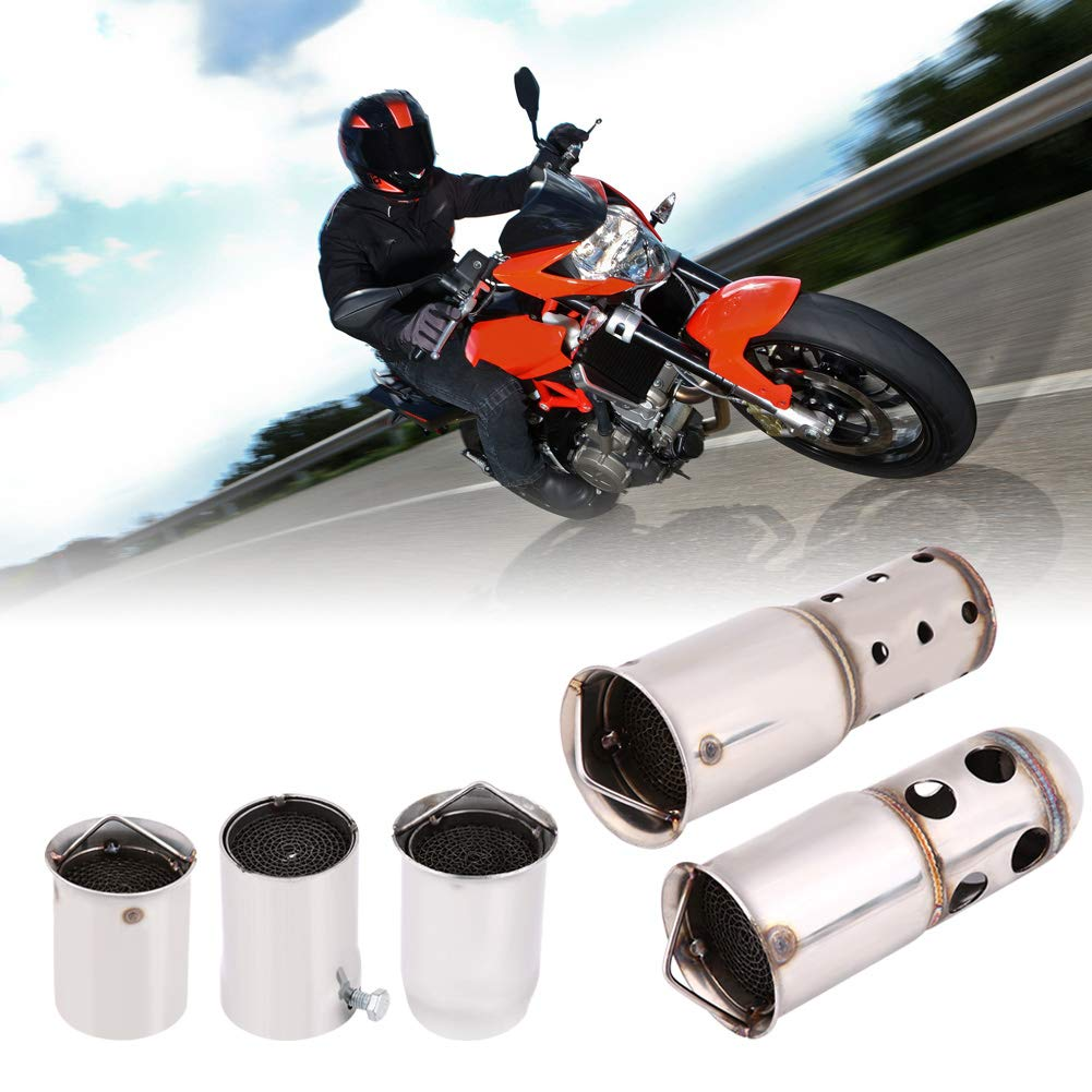 Universal 51mm Motorcycle Exhaust Pipe Muffler Silencer DB Killer Noise Eliminator Motorcycle Exhaust Tips Exhaust Silencer(4) by Keenso (Image #8)