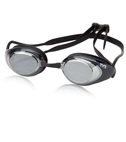 dec96dc6e14 Image Unavailable. Image not available for. Color  TYR Extra Comfortable  Unisex Performance Black Hawk Racing Polarized Goggle ...