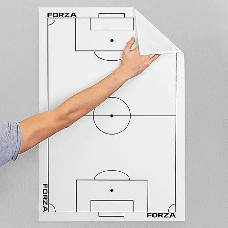 FORZA Hojas Tácticas Adhesivas para Entrenadores de Fútbol ...