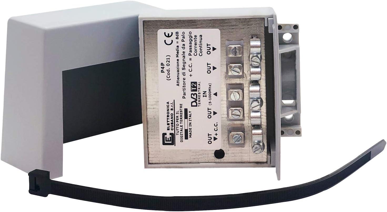 p4p – Distribuidor inductivo A Abrazadera de Palo para Antena ...