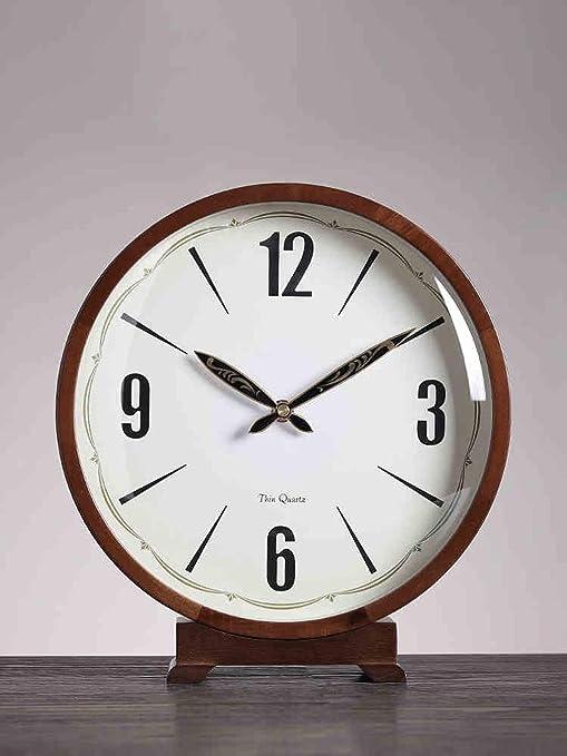 Escritorio/Reloj de Mesa Reloj Europeo de Madera |Sala de Estar ...