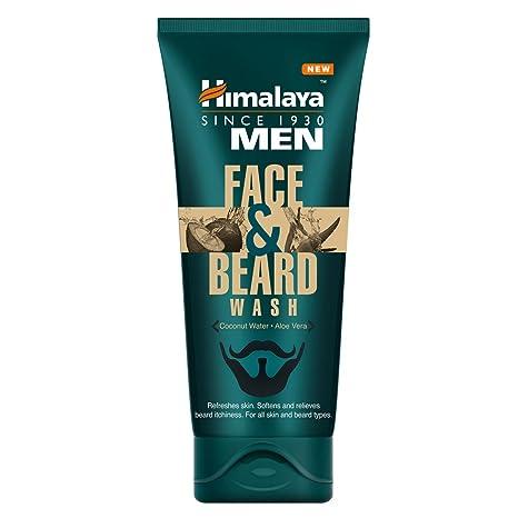 Himalaya Men Face and Beard Wash, 80ml