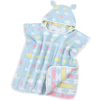 Toalla de bebé súper suave Toalla de playa con capucha Ducha de baño Manta de toalla de playa de natación: Amazon.es: Hogar