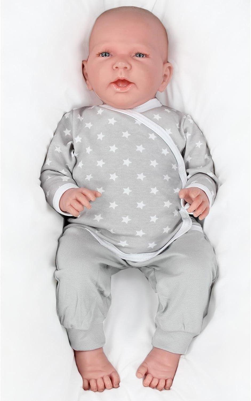 TupTam Unisex Baby Langarm Wickelshirt 5er Set