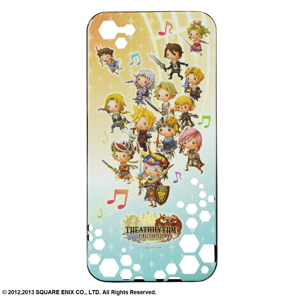 THEATRHYTHM FINAL FANTASY HARD CASE For iPhone5   B00DRS784I