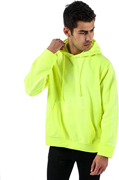 adidas sweat jaune homme