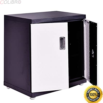 Colibrox Wall Mount Cabinet Metal Garage Steel Storage Box