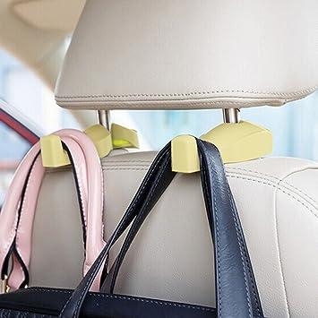 Set of 2 Universal Car Vehicle Back Seat Headrest Hanger Holder Hook UK Ship New