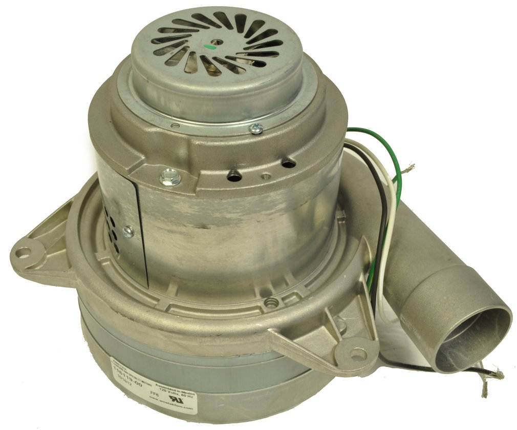 Image of Vacuum Mtr/Blwr, Tangential, 3 Stge, 1 SPD Motors