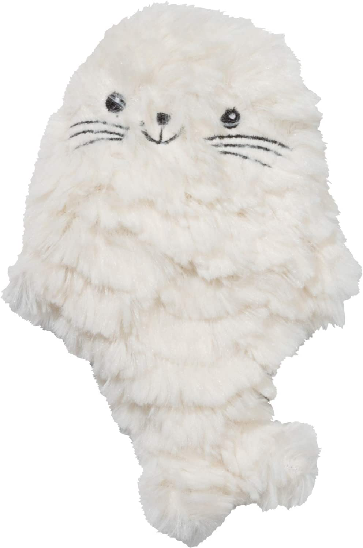 "GAMAGO Huggable Seal Pup Heatable Pillow 13.3"" x 9.84"" x 1.57"", White"