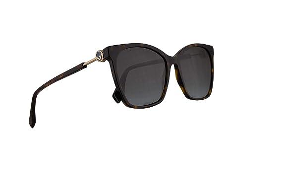 Amazon.com: Fendi FF0344/S - Gafas de sol (lente gris y ...