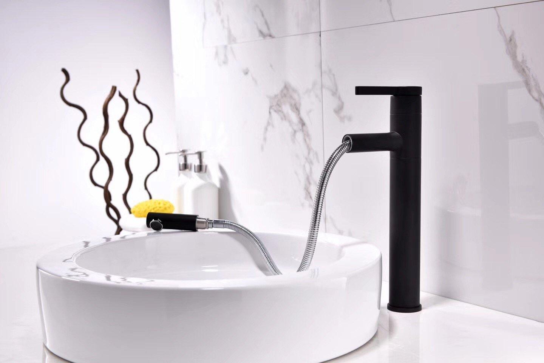 ETERNAL QUALITY Badezimmer Waschbecken Wasserhahn Messing Hahn Waschraum Mischer Mischbatterie Das Kupfer Waschbecken mit warmen und kaltem Leitungswasser kann EIN Bad AR