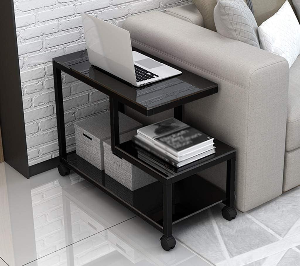 Online SZQ meerlagige tafel, woonkamer, koffietafel, slaapkamer, multifunctioneel, van glas, voor het verplaatsen van de tafel, exquise meter. D-80 * 35 * 55cm F-90 x 40 x 55 cm. uduoKCu