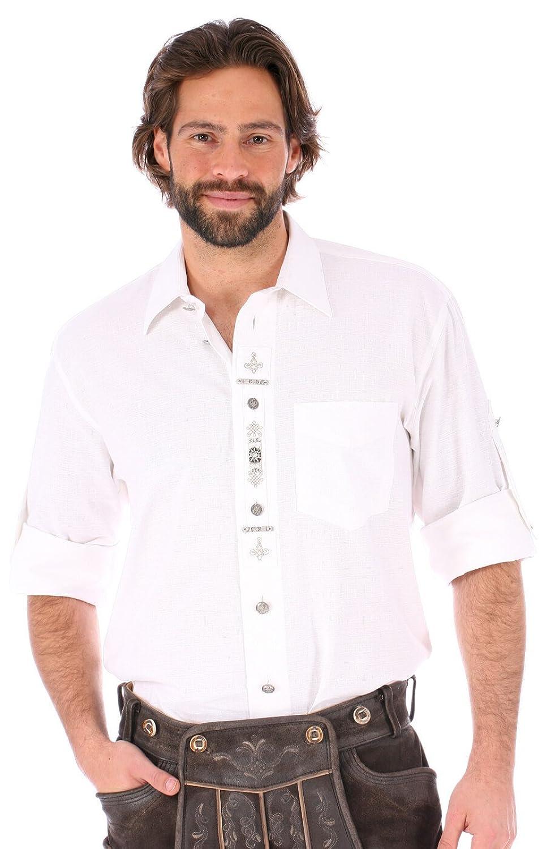Orbis Trachtenhemd 720009-1011-01 weiss