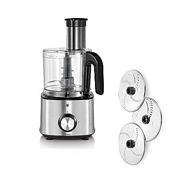 Wunderbar WMF Kult X Kompakte Küchenmaschine, 1000 W, 2 L Behälter, Cromargan Matt/