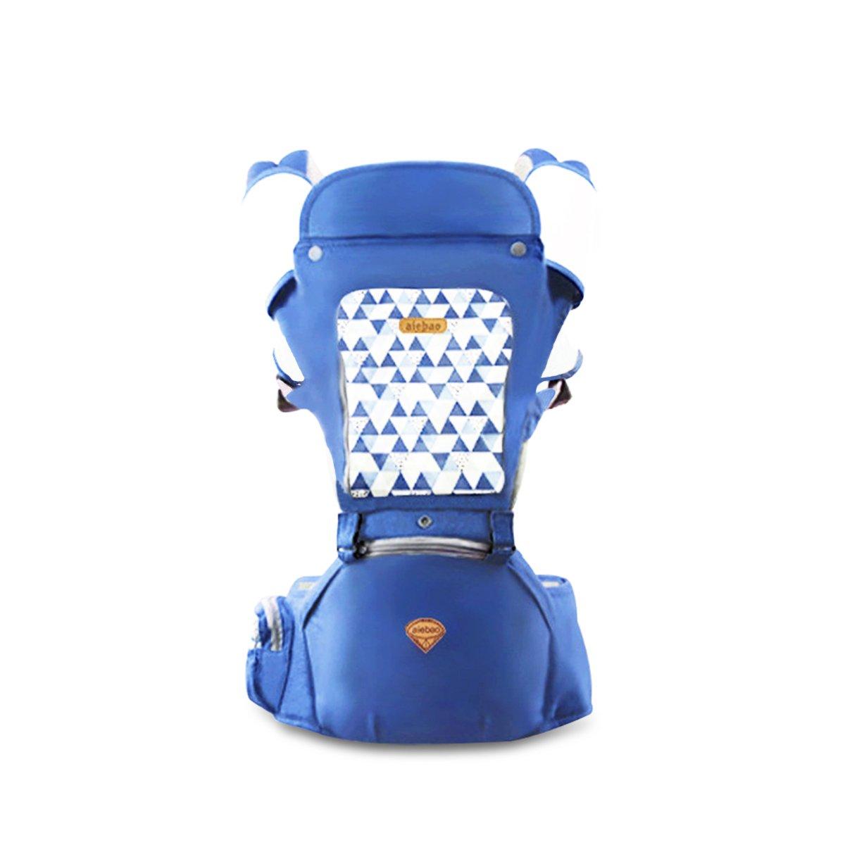 Babytrage SONARIN 3 in 1 All Season atmungsaktive Hipseat Baby Carrier Grau Sonnenschutz,Ergonomisch,Multifunktion,Einfach Mom,100/% GARANTIE und KOSTENLOSE LIEFERUNG Ideal Geschenk