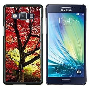 For Samsung Galaxy A5 A5000 Case , Naturaleza Campo Sol- Diseño Patrón Teléfono Caso Cubierta Case Bumper Duro Protección Case Cover Funda