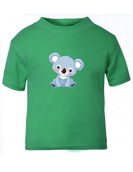 d29a9f8a236f96 Amazon.com: Baby Koala Chill Toddler Baby Kid T-Shirt Tee Kelly ...