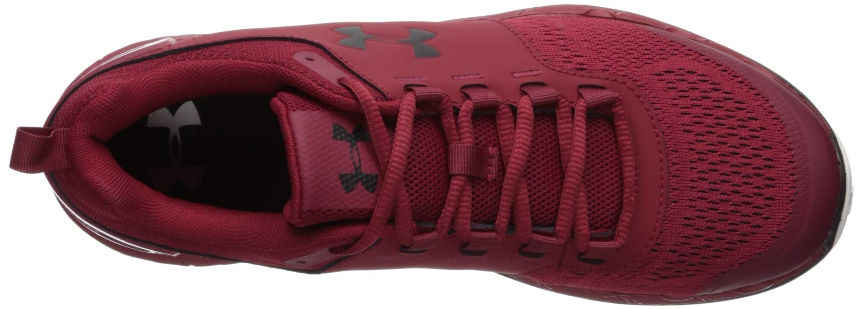 Under Armour Men's Commit TR EX Sneaker, Aruba Red (600)/Black, 7 M US by Under Armour (Image #6)