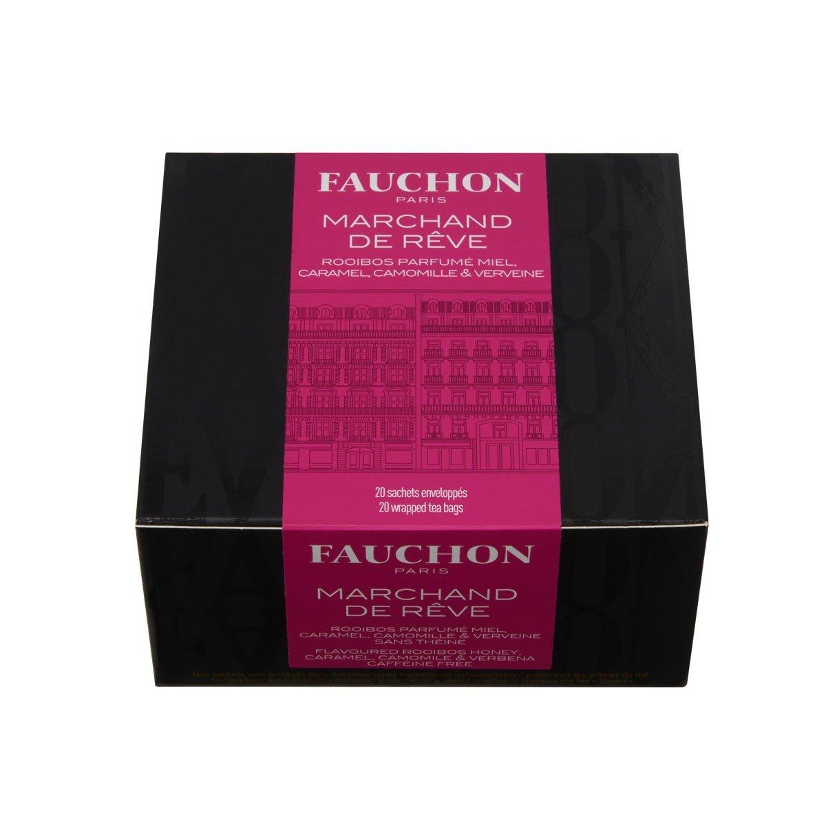 FAUCHON TEA PARIS - Sandman Rooibos / Marchand de Rêve Tea - 20 Tea Bags by Unknown