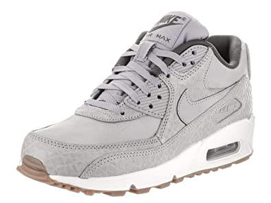 Nike Damen Air Max 90 Premium Sneaker Grau, Größe:42: Amazon.de ...