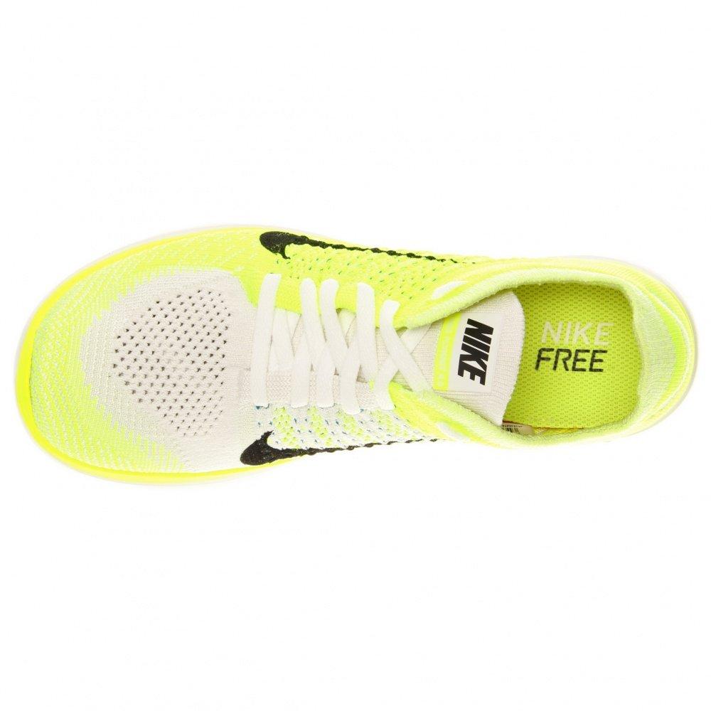 purchase cheap 168bd 16a86 Nike - W Free Flyknit 4.0, Femme - Vert - Vert, 37,5 EU EU  Amazon.fr   Chaussures et Sacs