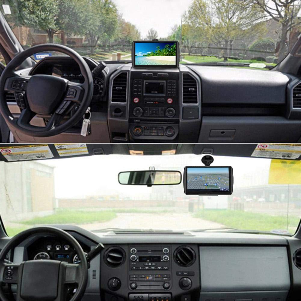 Navigation Aramox GPS Navigateur de voiture /à /écran tactile portable HD de 7 pouces avec navigation GPS 256 Mo 8 Go FM