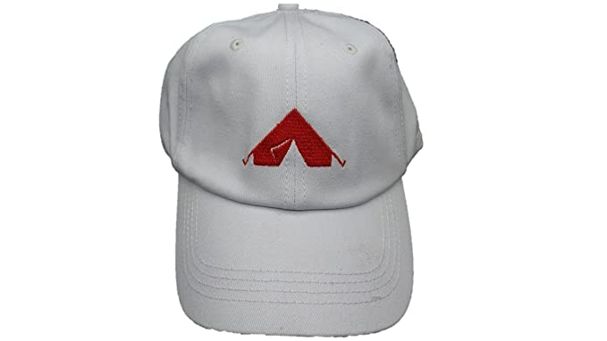 Camping Hat - Happy Camper Hat - Embroidered Camping Tent Baseball ... 0dcc6b83870