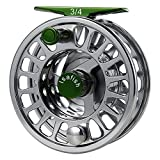 Isafish Fly Reel Large Arbor CNC Aluminum Alloy Body with Stainless Steel Ball Bearings Fishing Reels 3/4, 5/6, 7/8 Weights for Saltwater Freshwater Review