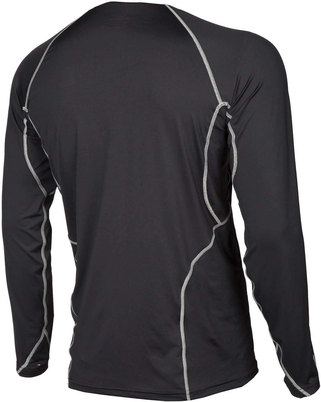 Klim Aggressor 1.0 Short-Sleeve Shirt Mens Undergarment Off-Road//Dirt Bike Body Armor Black 2X-Large