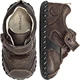 Baby : pediped Originals Franklin Casual Sneaker (Infant), Chocolate Brown, Medium (12-18 Months)