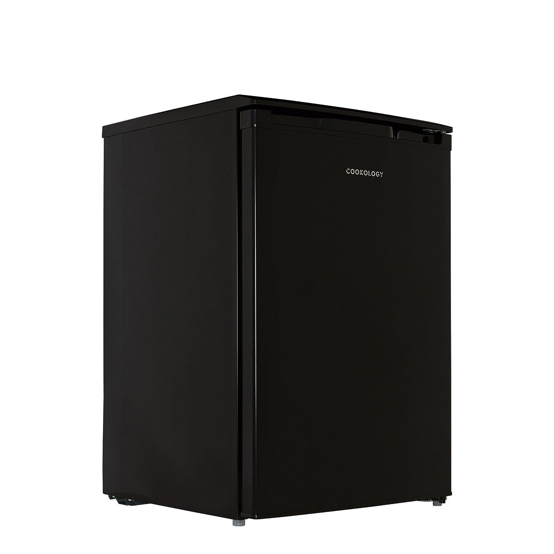 Cookology UCIB113BK 55cm Freestanding Undercounter Fridge & Ice Box in Black [Energy Class A+]