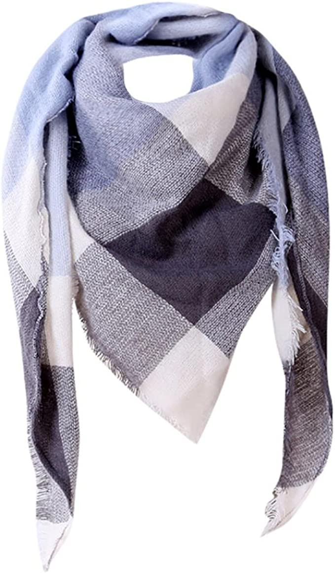 Internert Bufandas de lana de la tela escocesa del cachemira del ...