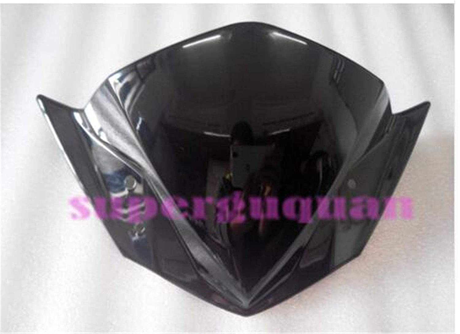 New For Yamaha FZ16 2014 2015 2016 ABS Windshield//Windscreen Black replacement rideforfund