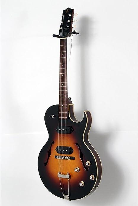 La Loar lh-302t thinbody Archtop CUTWAY P90 Guitarra eléctrica ...