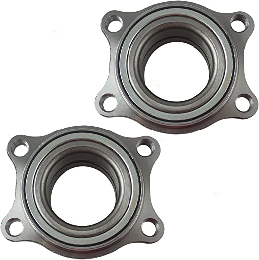 Pair Set Rear Wheel Hub Bearing Assembly Replacement for Infiniti FX35 FX45 43210-WL000 BM500005