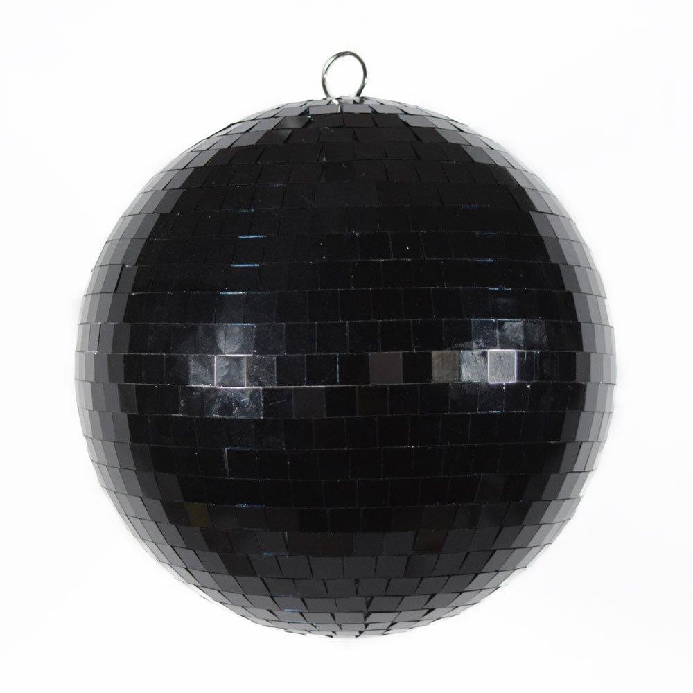 Fantado Paperlanternstore.com 12 Inch Black Disco Mirror Ball for Dance Party