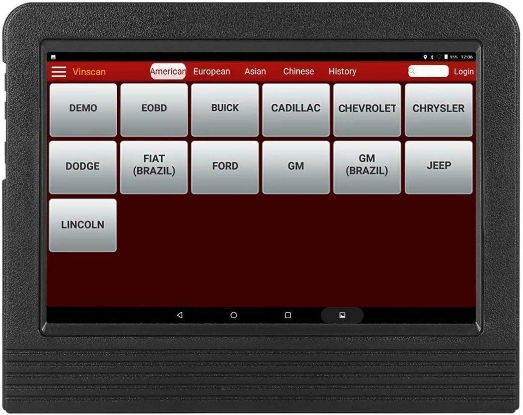 LAUNCH X-431 V+ Tablet Android Herramienta de diagnóstico profesional multimarca OBDII/EOBD dbscar wifi bluetooth 7000 mAh 2 años de actualizaciones de software gratuitas en ESPAÑOL