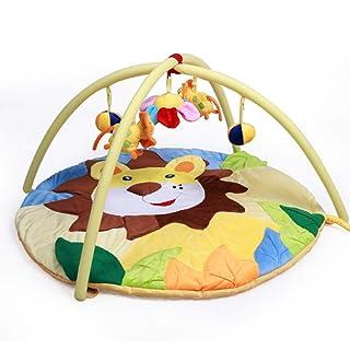 Cute Lion Baby Play Mat & Activity Gym Colorato e interattivo. Adatto per Neonati, materassini da Gioco per Bambini