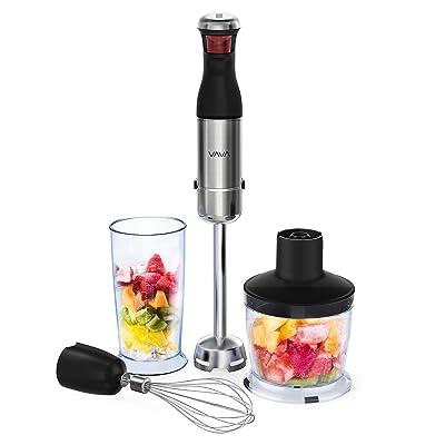 VAVA 4-in-1 Immersion Stick Hand Blender Set, I...