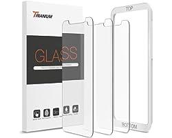 "Trianium (3 Packs) Screen Protector Designed for Apple iPhone 11 Pro Max, iPhone XS Max (6.5"" 2018) Premium HD Clarity 0.25mm"