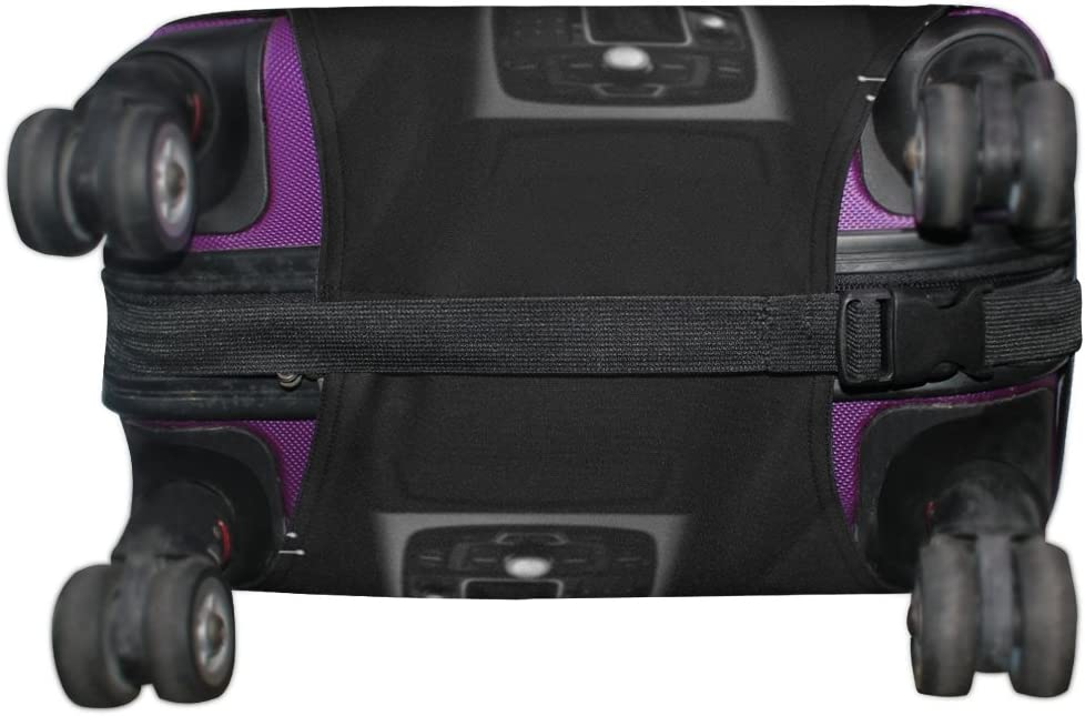 LEISISI Car Luggage Cover Elastic Protector Fits XL 29-32 in Suitcase