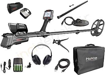 Nokta 11000702 Impact Pro Metal Detector, Black