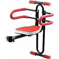 LVPY Kindersitz, Modischer Abnehmbarer Fahrrad-Vordersitz Kindersitz Pedal mit Griff für Herrenfahrrädern und Damenrädern