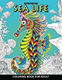 Colorful Sea Life Coloring Book For Adult: Coloring Book Easy, Fun, Beautiful Coloring Pages