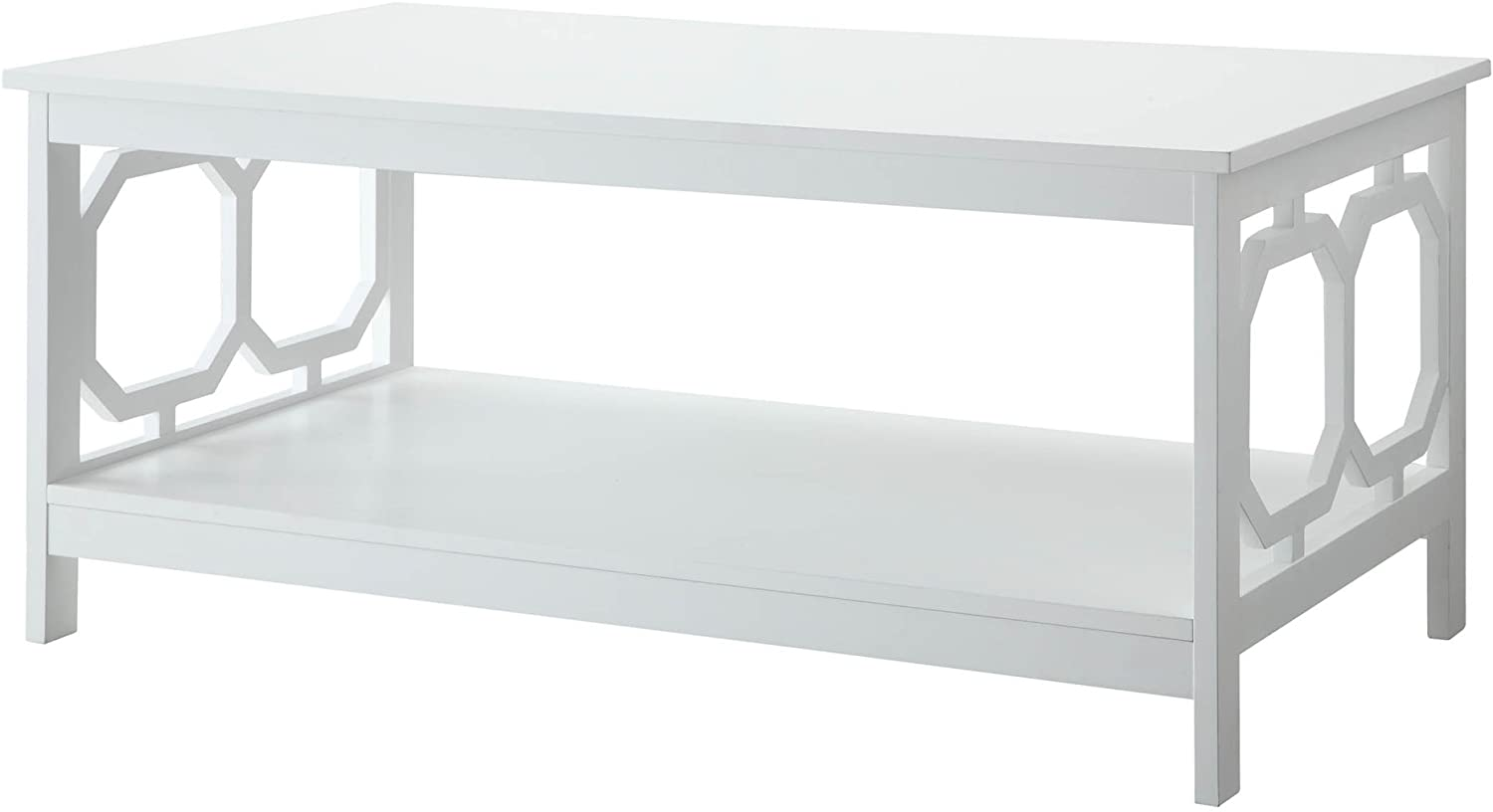 Convenience Concepts Omega Coffee Table, White