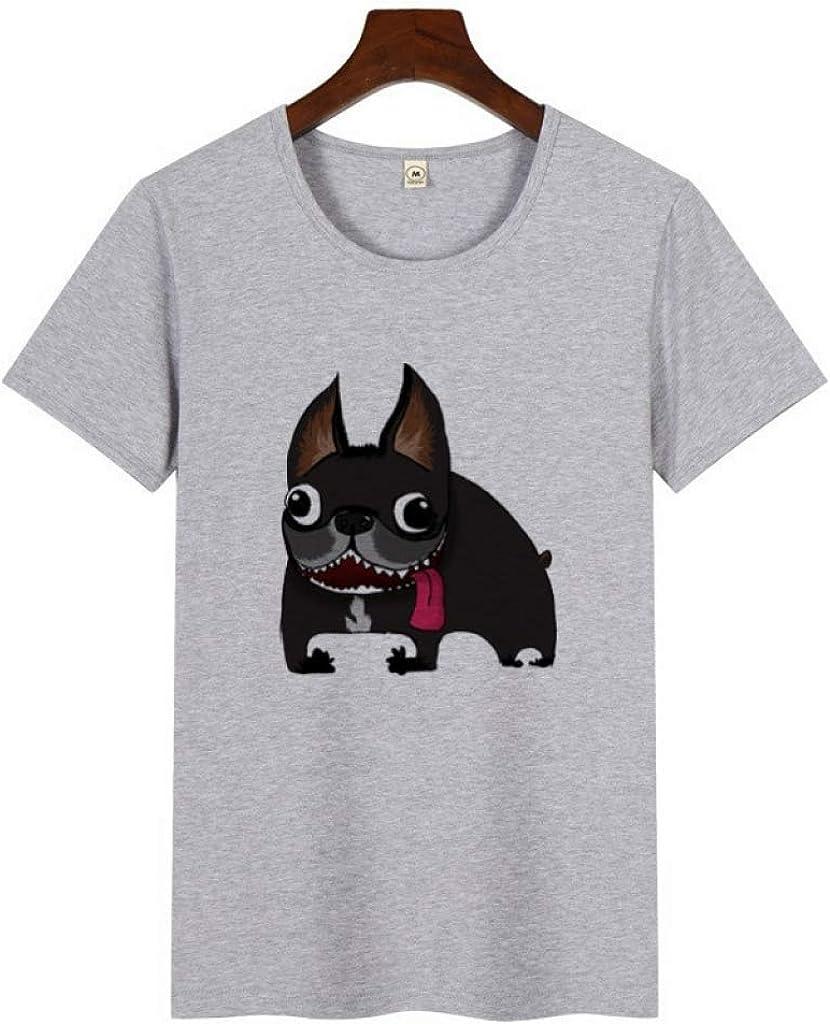 T-Shirt French Bulldog in My Pocket Print T Shirt Women Casual